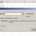Función NO en Excel