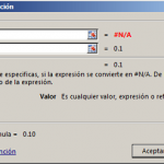 Función SI.ND en Excel