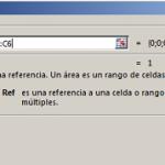 Función Areas en Excel Sintaxis