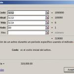 Función DB en Excel