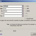 Función NPER en Excel
