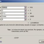 Función PAGOPRIN en Excel