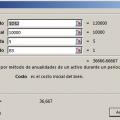 Función SYD en Excel