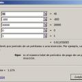 Función TASA en Excel Ejemplo