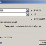 Función TASA.NOMINAL en Excel