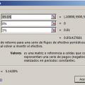 Función TIRM en Excel
