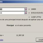 Función VF.PLAN en Excel