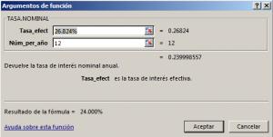 Funci%c3%b3n TASA.NOMINAL en Excel 300x151 - Función TASA.NOMINAL en Excel