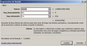 Funci%c3%b3n TIRM en Excel 300x158 - Función TIRM en Excel