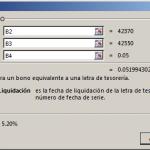 Función LETRA.DE.TEST.EQV.A.BONO en Excel