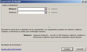 Funci%c3%b3n SUMA.CUADRADOS en Excel 300x180 - Función SUMA.CUADRADOS en Excel