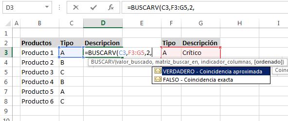 Función Buscarv En Excel Funciones De Excel