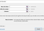 Ejemplo Función BDMIN en Excel